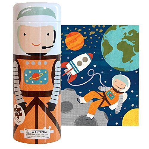 Tin Canister Puzzles - Into Space