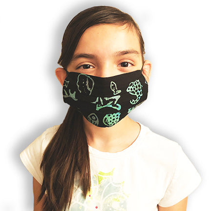 Kids Resuable Cloth Face Mask - Various Patterns