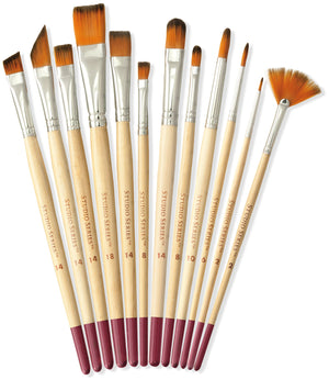 Studio Series Artist Brush Set - 12 pack