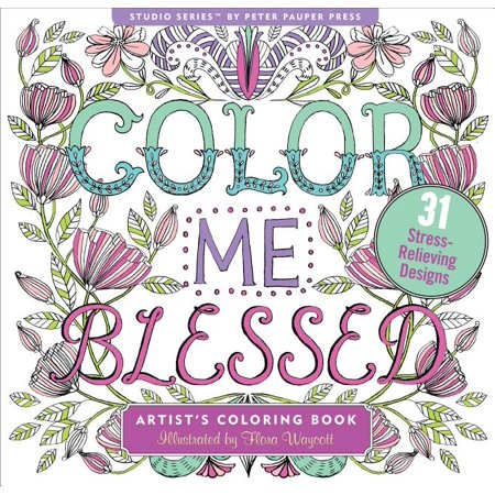 Coloring Book - Color Me Blessed
