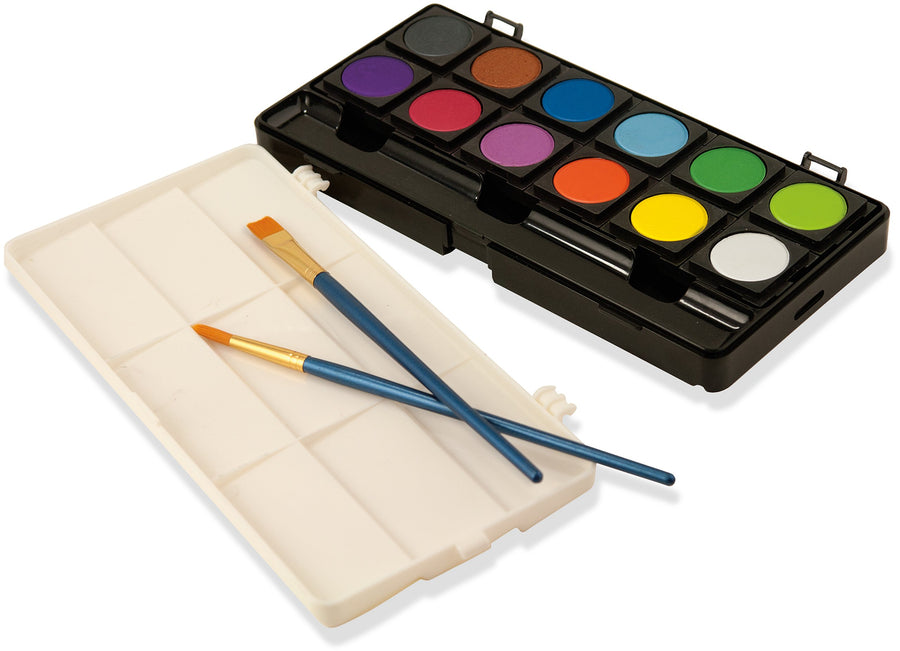 Dry Gouache Paint Set