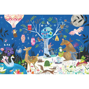 Nightime Forest Kids Floor Puzzle