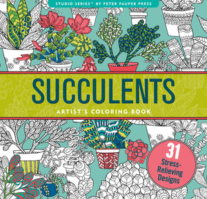 Coloring Book - Succulents