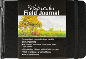 Watercolor Field Pocket Journal