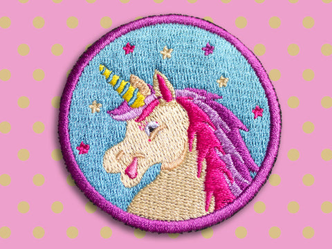 Iron on Patch - Unicorn - Embroidered Patches - The Imagination Spot - 1