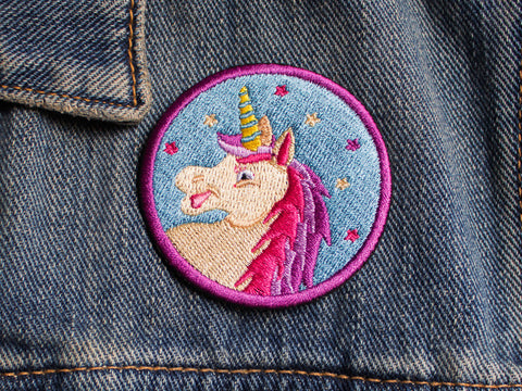 Iron on Patch - Unicorn - Embroidered Patches - The Imagination Spot - 2