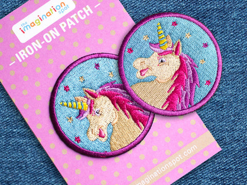 Iron on Patch - Unicorn - Embroidered Patches - The Imagination Spot - 3