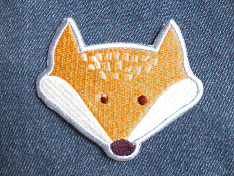 Iron on Patch - Fox Patch - Embroidered Patches