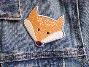 Iron on Patch - Fox Patch - Embroidered Patches - The Imagination Spot - 2