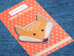 Iron on Patch - Fox Patch - Embroidered Patches - The Imagination Spot - 3
