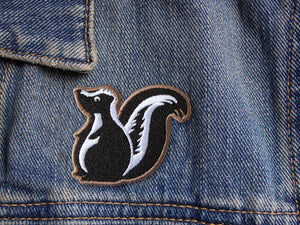 Skunk patch - Denim patches