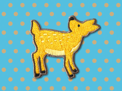 Iron On patches - Deer by The Imagination Spot