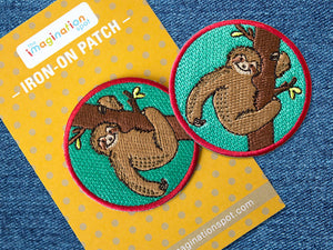 Sloth patch - Iron on patches