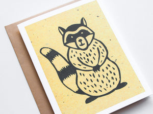 Raccoon Note Card Set - Woodland Animals - Handmade Cards - The Imagination Spot - 3