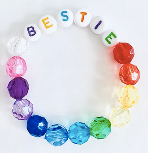 Multi-colored Bead Bracelets - For Kids
