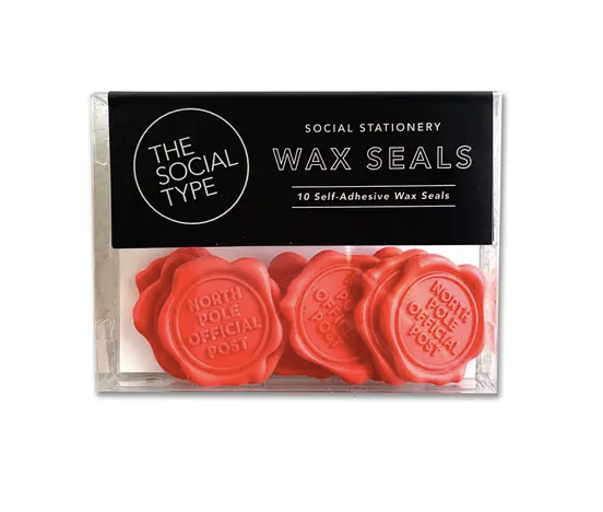 70% OFF - North Pole Official Post - Wax Seals Set