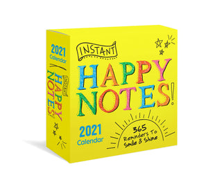 Happy Notes Desk Calendar - 2021