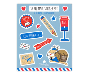 Snail Mail Sticker Set - The Imagination Spot