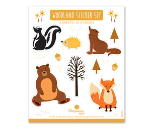 Woodland Sticker set - The Imagination Spot