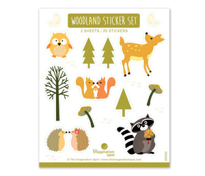 Cute Woodland Stickers - The Imagination Spot