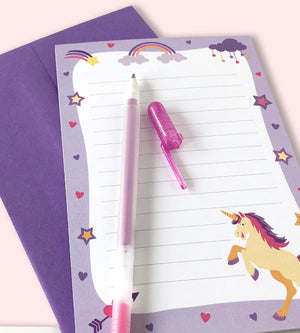 Unicorn Stationery Set - Letter writing kit