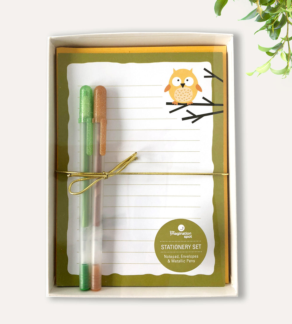 Owl Stationery Set - The Imagination Spot