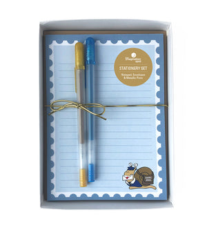 Snail Mail Stationery Set - Letter Writing Kit