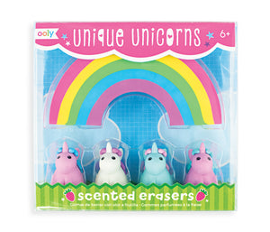 Unicorn Scented Erasers - Art and Craft Supplies
