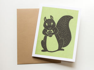 Squirrel Note Card Set - Woodland Animals - Handmade Cards - The Imagination Spot - 2