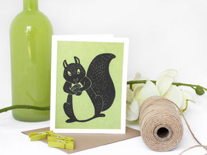 Squirrel Note Card Set - Woodland Animals - Handmade Cards - The Imagination Spot - 1