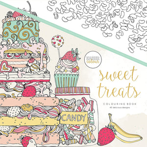 Sweet Treats - Coloring Book