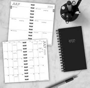 Small School Year Planner - July 2020 - June 2021