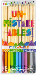 Erasable Colored Pencils - 12 pk