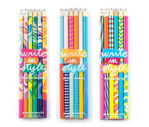 Fun graphite pencil set - School Supplies