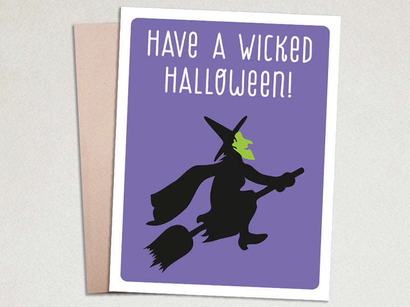 Halloween Card - Wicked Halloween - The Imagination Spot - 1