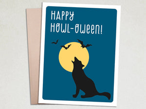 Halloween Card - Happy Howl-oween - The Imagination Spot - 1
