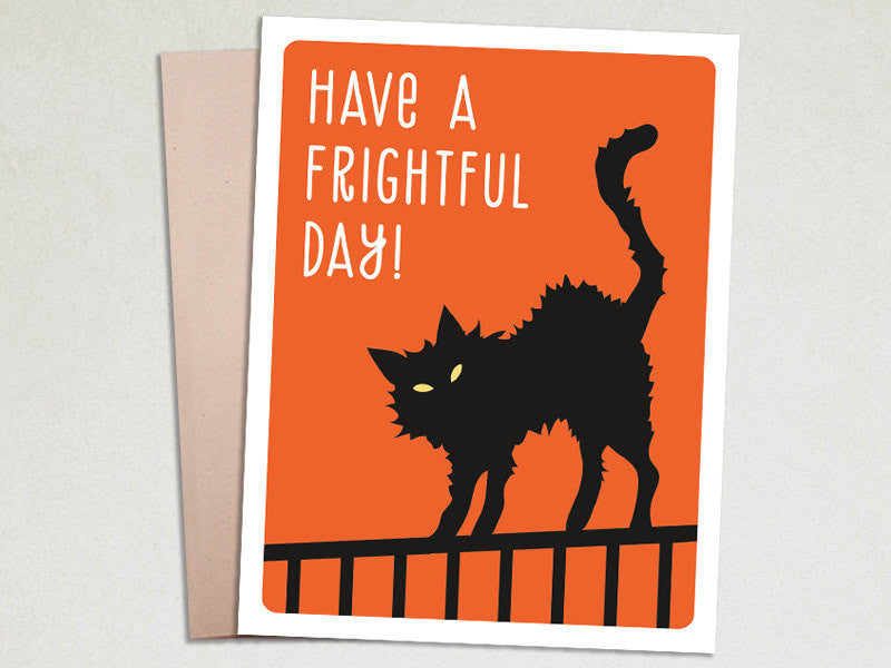 Halloween Card - Frightful Day - The Imagination Spot - 1