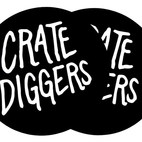 Crate Diggers Felt Turntable Slipmats