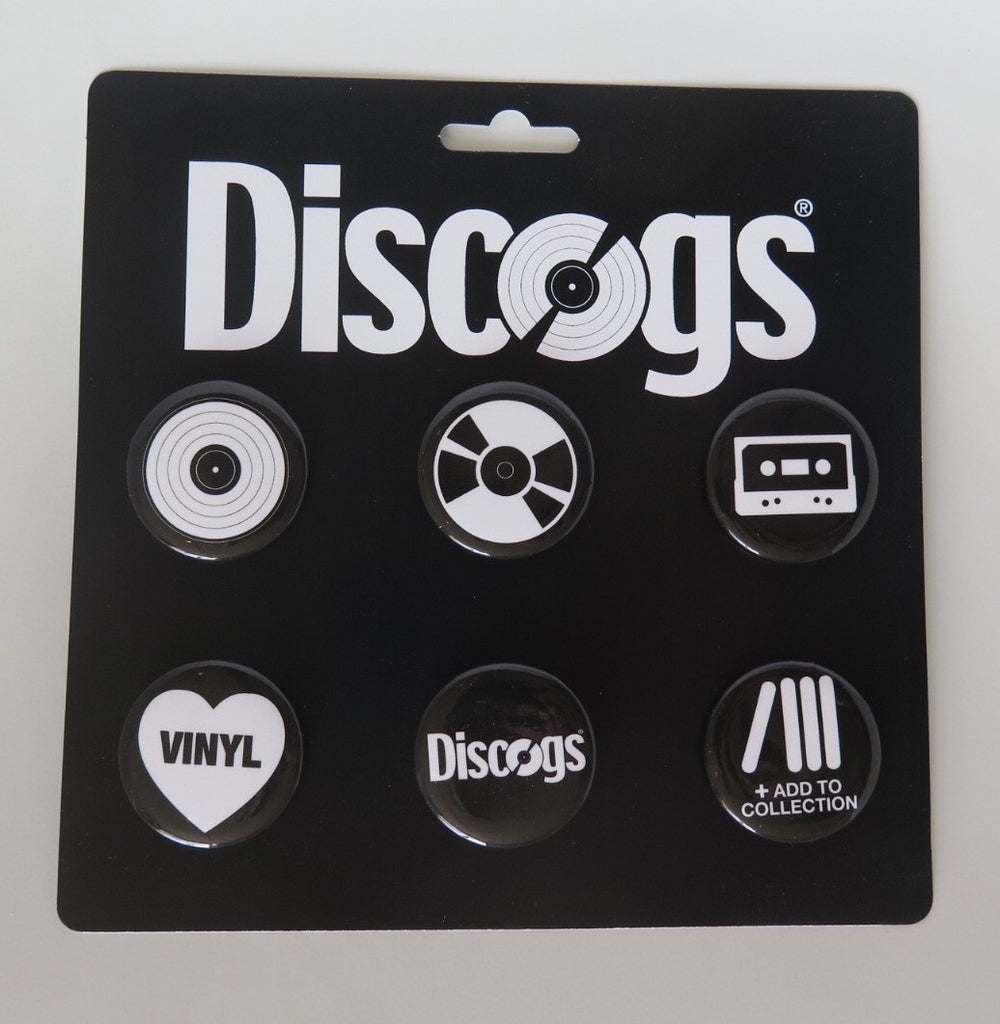 Discogs Pin Pack