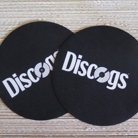 Discogs Felt Turntable Slipmats