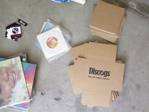 Discogs record mailers