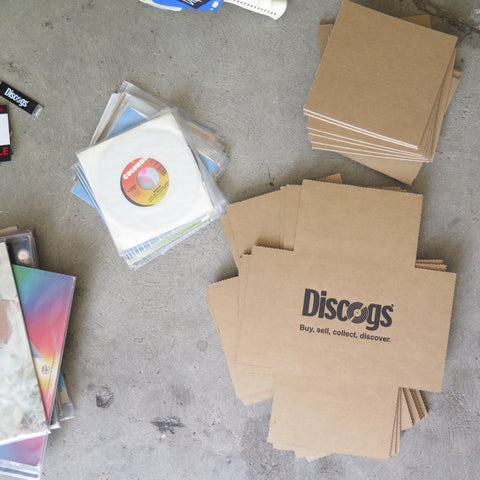 Discogs Classic 45 Record Mailers
