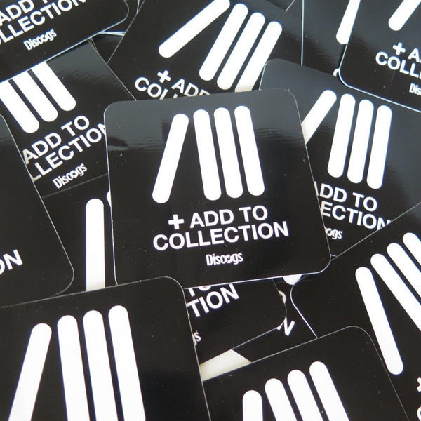 Discogs 'Add To Collection' stickers tap into the vinyl community