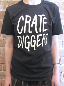 Crate Diggers Black T-shirt