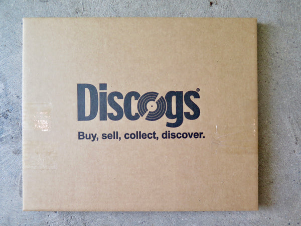 Discogs branded vinyl record mailers
