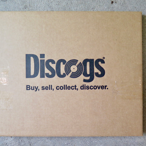 Discogs LP Record Mailers (with protective Corner Air Cells) Heavy Duty