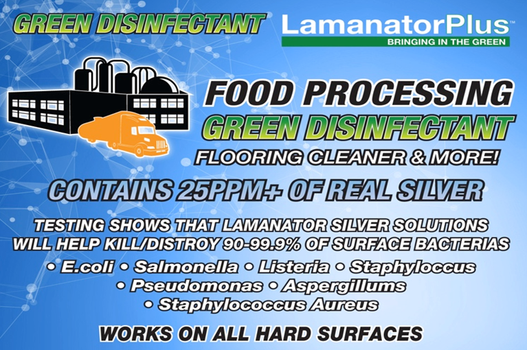 sanitize food prep areas