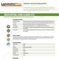 Floor Cleaner Green Seal