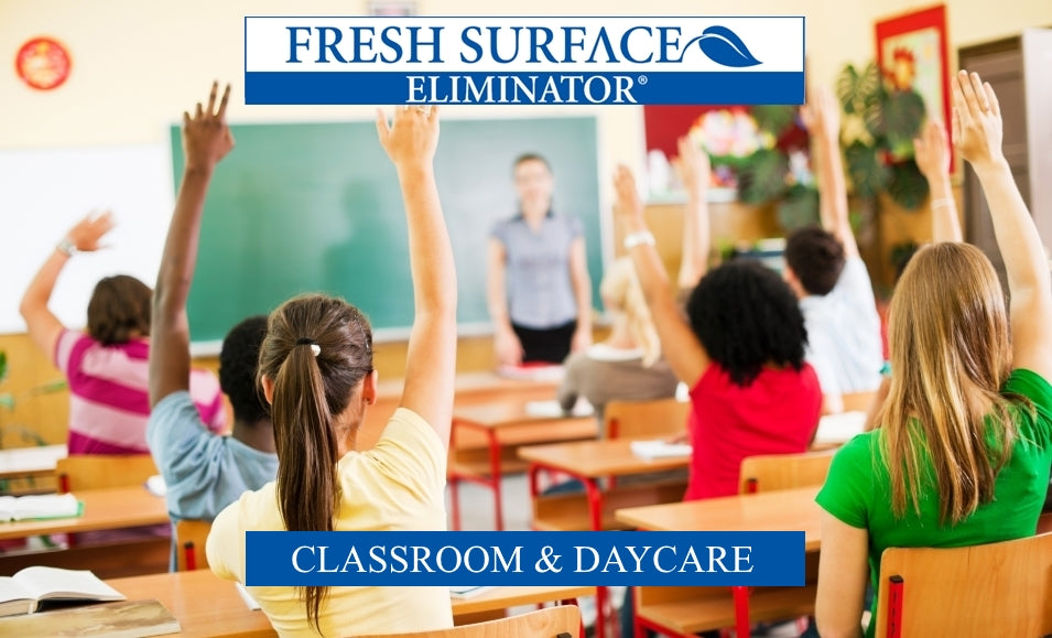 clean and sanitize classrooms and daycares