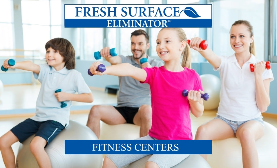 disinfects gyms and fitness centers